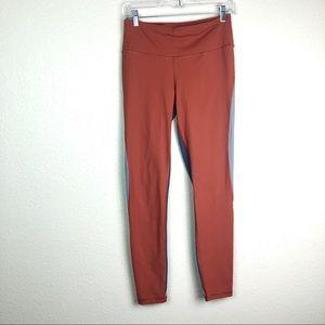 Victoria's Secret Sport knockout orange tights, M